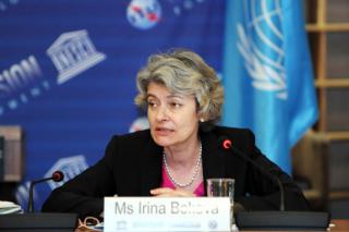 Ms Irina Bokova, la Directrice générale de l'UNESCO, Irina Bokova, Photographer, Danica Bijeljac © UNESCO