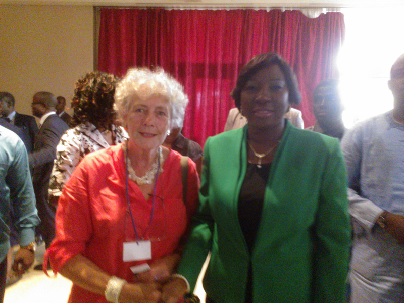Mesdames Kandia Camara et Christine Roche