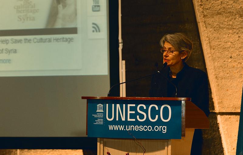 Mme Irina Bokova, Directrice générale de l'Unesco