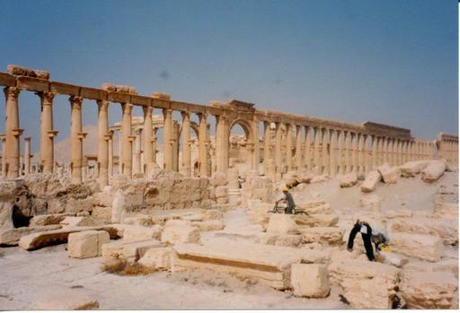 Palmyre menacée