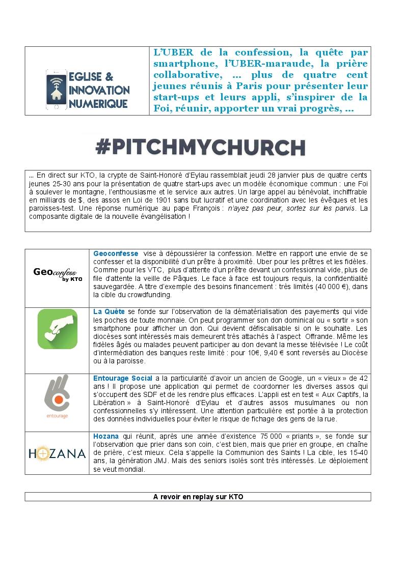 Eglise et Innovation Numérique