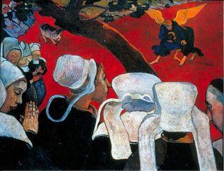 Le sermon par Gauguin