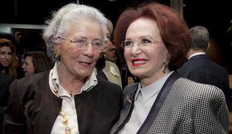 Madame Christine Roche présidente du CCIC (gauche) félicite Madame Maha Chalibi pour sa nomination d'Ambassadrice de bonne volonté